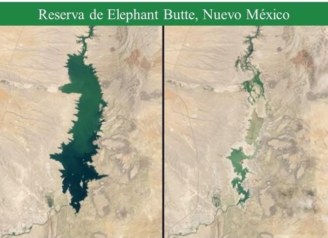 Sequía en reserva Elephant Butte_imagen 1